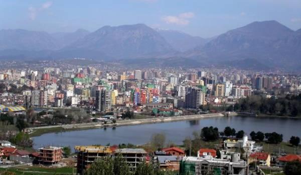 glavni grad albanije