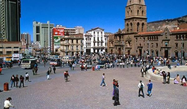 bolivija glavni grad