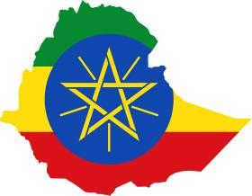Etiopija Stanovni Tvo Geografska Karta I Položaj