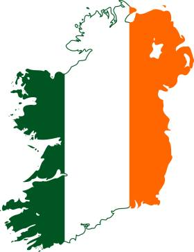 Irska Stanovnistvo Geografska Karta I Polozaj Glavni Grad