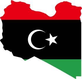 Mapa Sveta Libija Superjoden