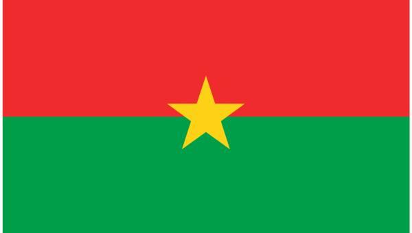 zastava burkine faso