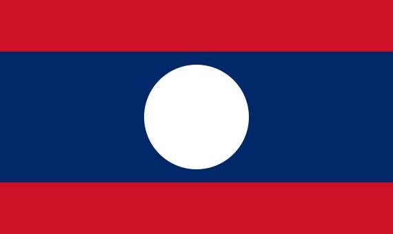 zastava laosa