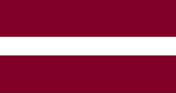 zastava letonije