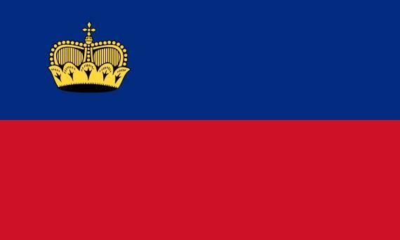 zastava lihtenstajna