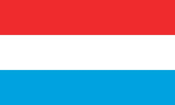 zastava lukemburga