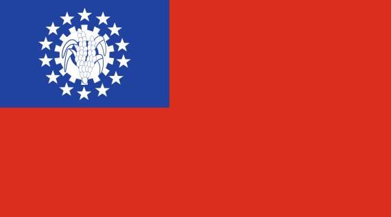 zastava mijanmara
