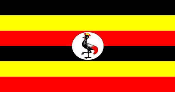 zastava ugande